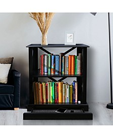 Jackson 3 - Shelf Bookcase with Concealed Drawer, Concealment Furniture