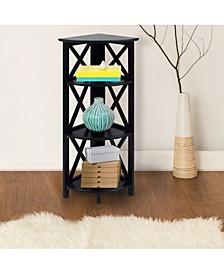 Montego 4 - Shelf Corner Folding Bookcase