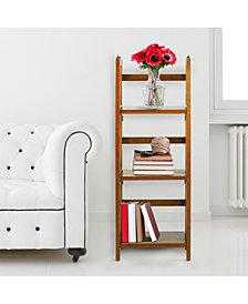 "3 - Shelf Folding Bookcase 14"" Wide"
