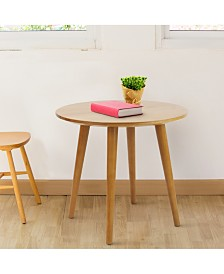 Mesa End Table with Solid Cherry Wood Top