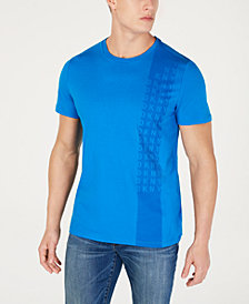 DKNY Men's Tonal Logo Stripe Graphic T-Shirt