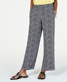 MICHAEL Michael Kors Pull-On Printed Pants