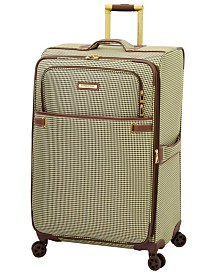 "London Fog Oxford II 29"" Softside Spinner Suitcase, Created for Macy's"