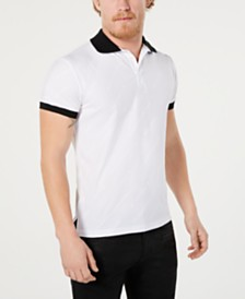 Versace Men's Logo Graphic Polo