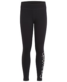 Calvin Klein Performance Big Girls Logo Leggings