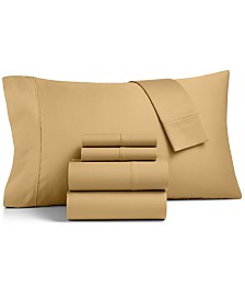 CLOSEOUT! Charter Club 600-Thread Count 6-Pc. Queen Sheet Set, Created for Macy's