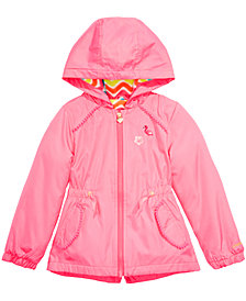 London Fog Toddler & Little Girls Hooded Flamingo Jacket