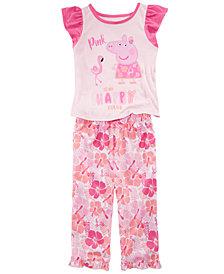 Peppa Pig Toddler Girls 2-Pc. Pajama Set