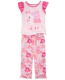 Peppa Pig Toddler Girls 2-Pc. Pajama Set
