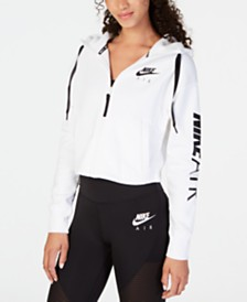 Nike Air Womens Fleece Zip Hoodie & Ankle Leggings
