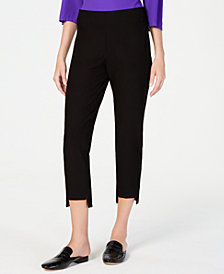 Eileen Fisher Slim Cropped Pants