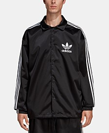adidas Men's Originals Adicolor Satin Coach Jacket