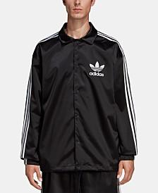 adidas Men's Originals Adicolor Satin Coach Jacket