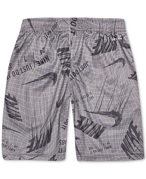 Nike Little Boys Printed Dri-FIT Shorts