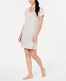 Short-Sleeve Cotton Knit Sleepshirt, Created for Macy's