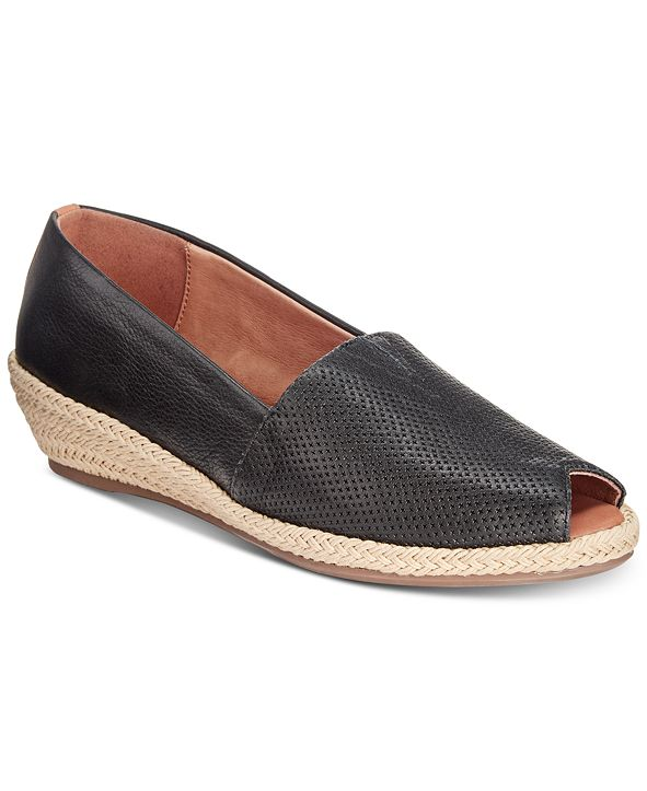 Gentle Souls by Kenneth Cole Luci A-Line Espadrille Wedges