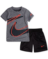11d311850f8c Nike Little Boys 2-Pc. Dropset T-Shirt   Shorts Set