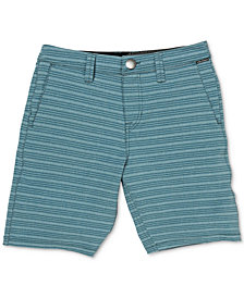 Volcom Boys Stretch Stripe Board Shorts
