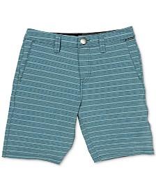Volcom Little Boys Stretch Stripe Board Shorts