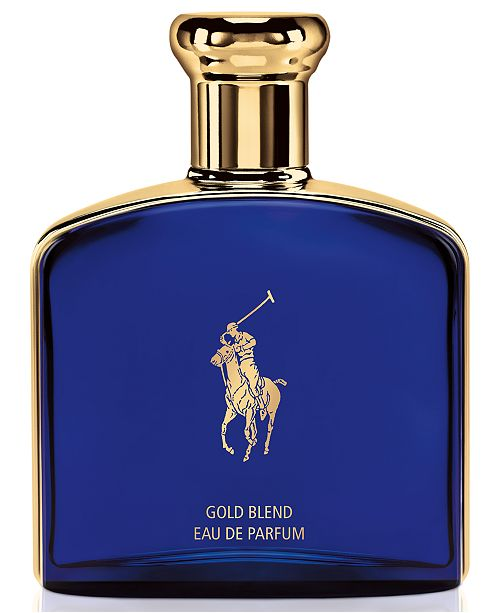Ralph Lauren Men's Polo Blue Gold Blend Eau de Parfum Spray, 4.2-oz.