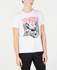 Just Cavalli Men's Chinese New Year Pig Logo Graphic T-Shirt