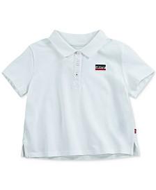 Levi's® Big Girls Cropped Cotton Polo Shirt