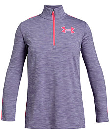 Under Armour Big Girls Tech Half-Zip Sweatshirt