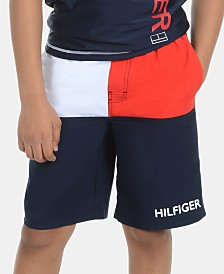 Tommy Hilfiger Big Boys Colorblocked Board Shorts