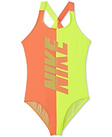 Nike Big Girls 1-Pc. Rift Crossback Swimsuit