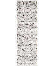 "Safavieh Adirondack Ivory and Silver 2'6"" x 8' Area Rug"