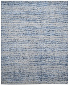 Adirondack Blue and Silver 8' x 10' Area Rug