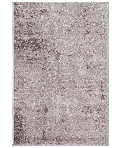 "Safavieh Adirondack Light Gray and Purple 2'6"" x 4' Area Rug"