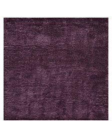 "Safavieh Colorado Shag Purple 6'7"" x 6'7"" Square Area Rug"