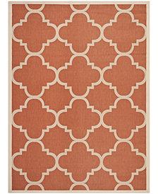 Safavieh Courtyard Terracotta 8' x 11' Sisal Weave Area Rug