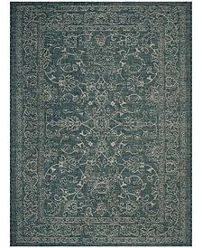 Safavieh Courtyard Turquoise 8' x 11' Sisal Weave Area Rug