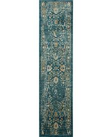Safavieh Evoke Light Blue and Beige 2' x 8' Area Rug