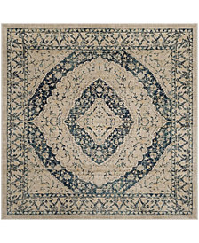 "Safavieh Evoke Beige and Blue 6'7"" x 6'7"" Square Area Rug"