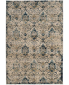"Safavieh Evoke Beige and Navy 5'1"" x 7'6"" Area Rug"