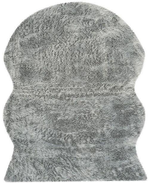 Safavieh Faux Sheep Skin Light Gray 8' X 10' Area Rug