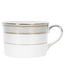 "Lauren Ralph Lauren ""Silk Ribbon Pearl"" Tea Cup, 7 oz"