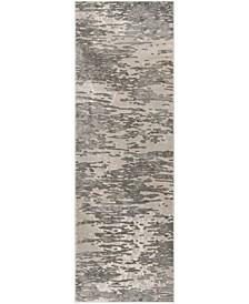 "Meadow Gray 2'7"" x 8' Area Rug"