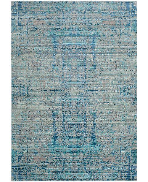 Safavieh Mystique Light Blue and Multi 5' x 8' Area Rug