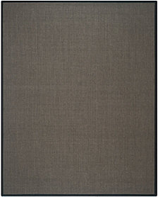 "Safavieh Natural Fiber Charcoal 2'6"" x 8' Sisal Weave Area Rug"