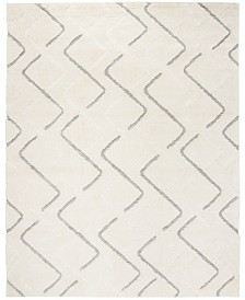 Safavieh Olympia Cream and Gray 8' x 10' Area Rug