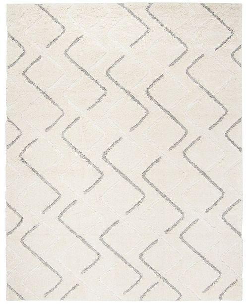 Safavieh Olympia Cream and Gray 8' x 10' Area Rug
