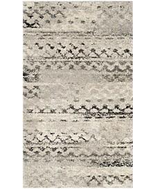 Safavieh Retro Cream and Gray 3' x 5' Area Rug