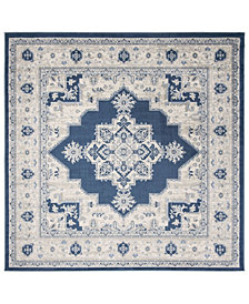 "Safavieh Brentwood Navy and Creme 6'7"" x 6'7"" Square Area Rug"