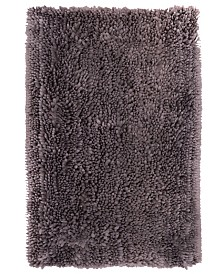 Home Dynamix Nicole Miller Radiance Shag Popcorn Chenille Microfiber Bath Mat