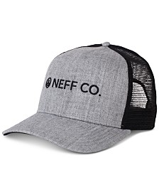 Neff Men's Logo Graphic Trucker Hat