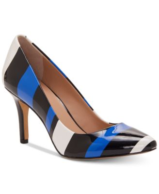 Image of I.N.C. Women's Zitah Pointed Toe Pumps, Created for Macy's